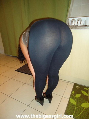 The Big Ass Girl spandex